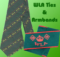 WLA ties and Armbands