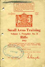 Small Arms Training Pamphlets and other Weapons training and instructions