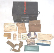 ARP First aid box and some contents