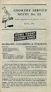 Cookery Service Notes No55 July 1944