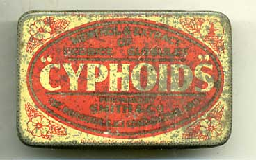 Cyphoids tablets for coughs