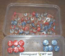 Homeguard TEWT set (TEWT=Tactical Exercise Without Troops) £18.50