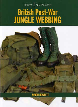 British Post-War Jungle Webbing