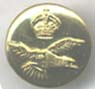 RAF Large Brass Button