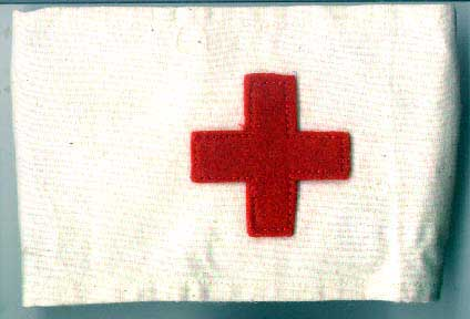 Red Cross Armband, repro