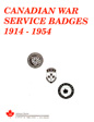 Canadian War Service Badges