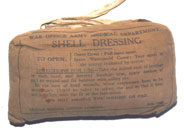 Shell Dressing-scarce War Office issue £9.50 each