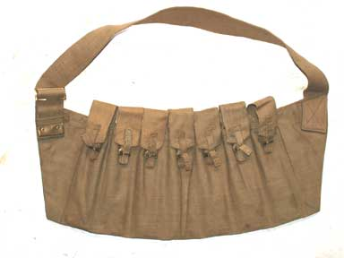 Sten Magazine Bandolier-Genuine WW2