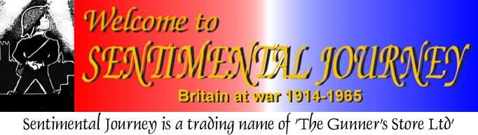 Sentimental Journey Ltd, British Militaria dealers