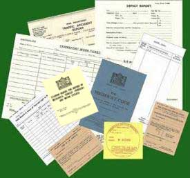 British Armed Forces Documents