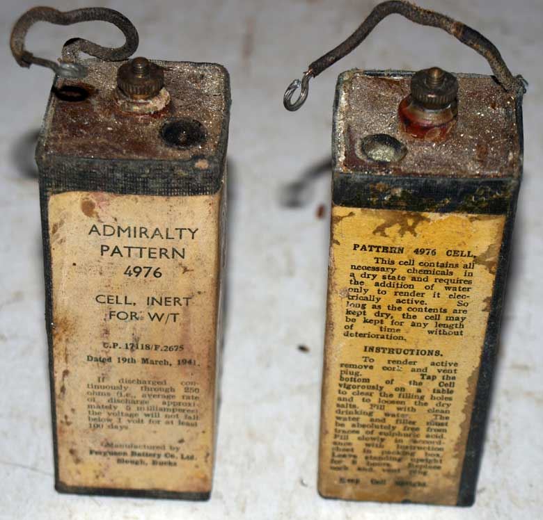 Rare X Cell Batteries 1944 - Sentimental Journey - Online Store