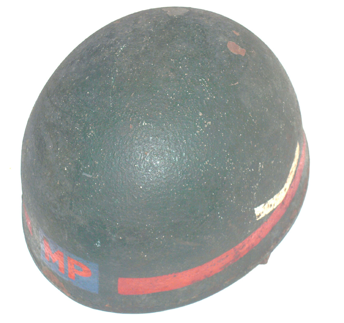 1944 Despatch Riders Helmet marked for MP L/Corporal
