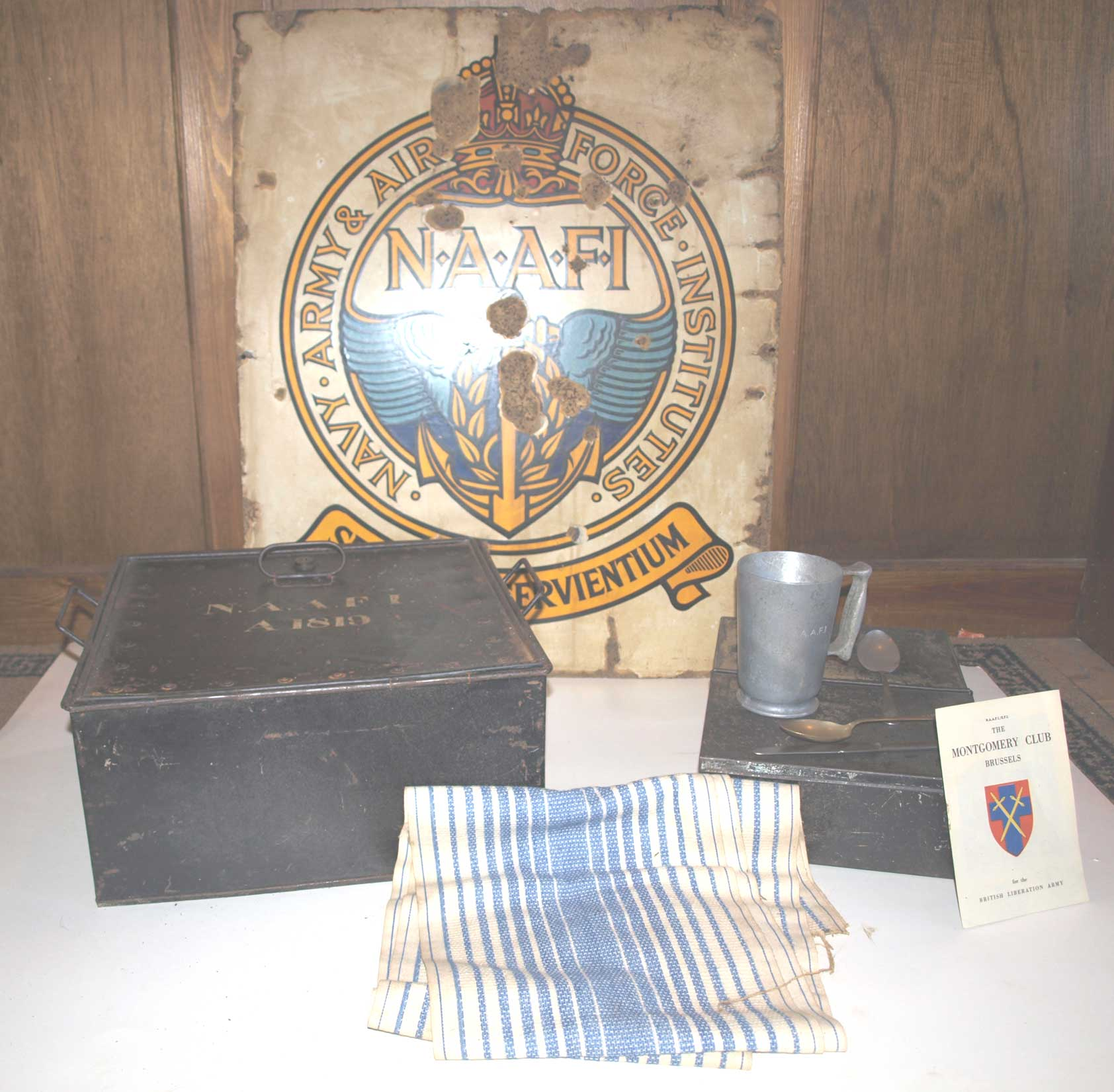 NAAFI items  from our collection