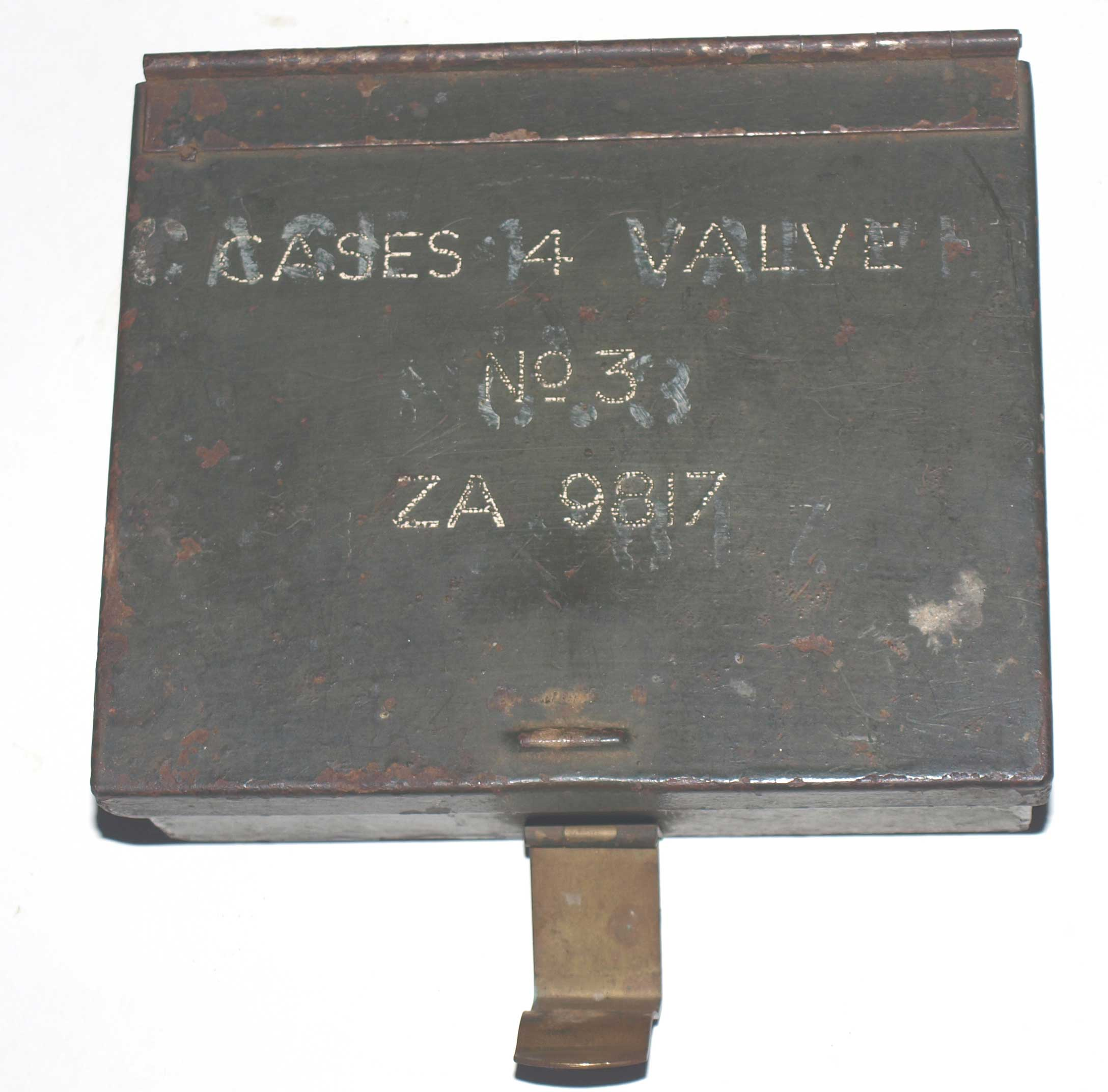 Case No3 for WS38 spare valves-with contents