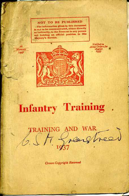 Infantry Training 1937
