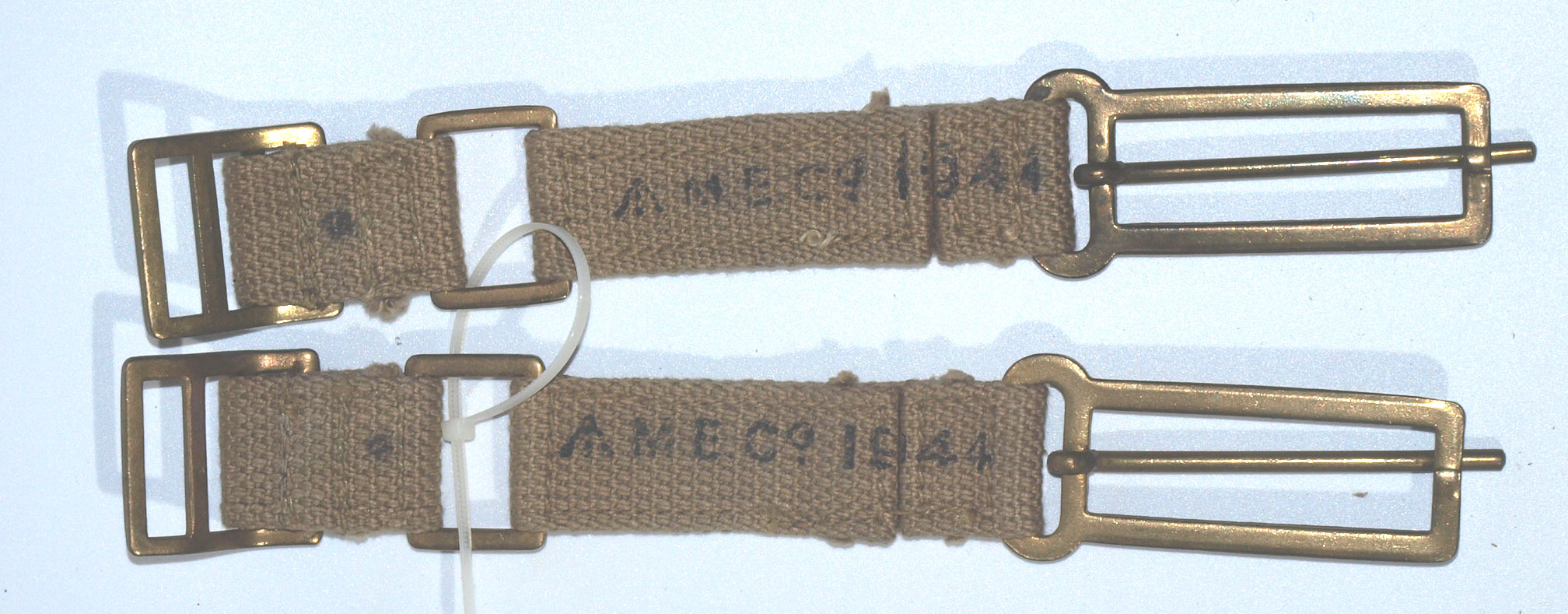 37 Pattern Brace (Strap) Attachments-matching pair dated 1944