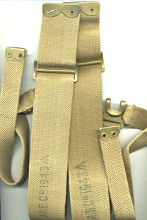 37 Pattern L (pack) Strap matched pair-MECo manfactured