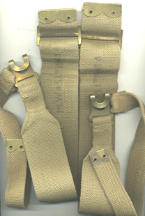 37 Pattern L (pack) Strap matched pair-various makes
