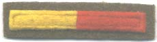 Royal Armoured Corps Arm of Service strip