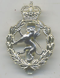WRAC Staybrite Cap Badge