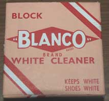 White Blanco in it's box