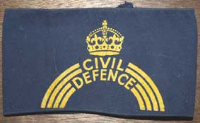 WW2 Civil Defence Armband