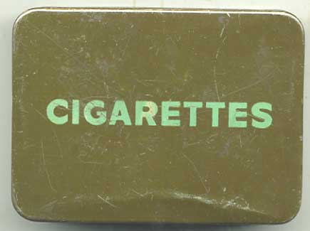 Issue WW2  ration box for cigarettes (CIG-2)
