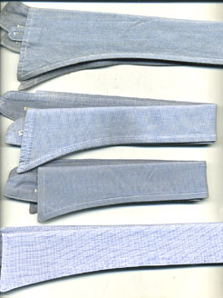 RAF Officer's &  Airmen's  (& WAAF) Collars-3 types