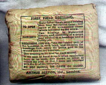 First Field Dressing