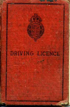 Early war Drivers Licence