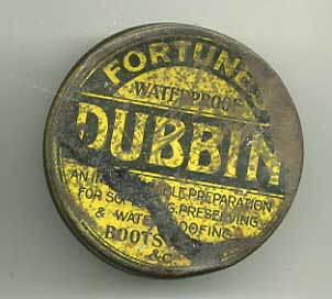 Fortunes Dubbin-small tin