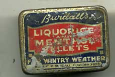 Burdalls Liquorice and menthol Pellets