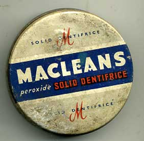 Macleans peroxide teeth dentifrice