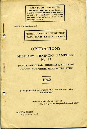MTP No23 Operations Part 1 1942