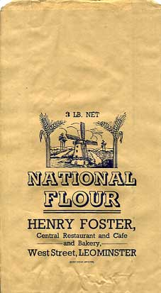 WW2 National Flour Bag