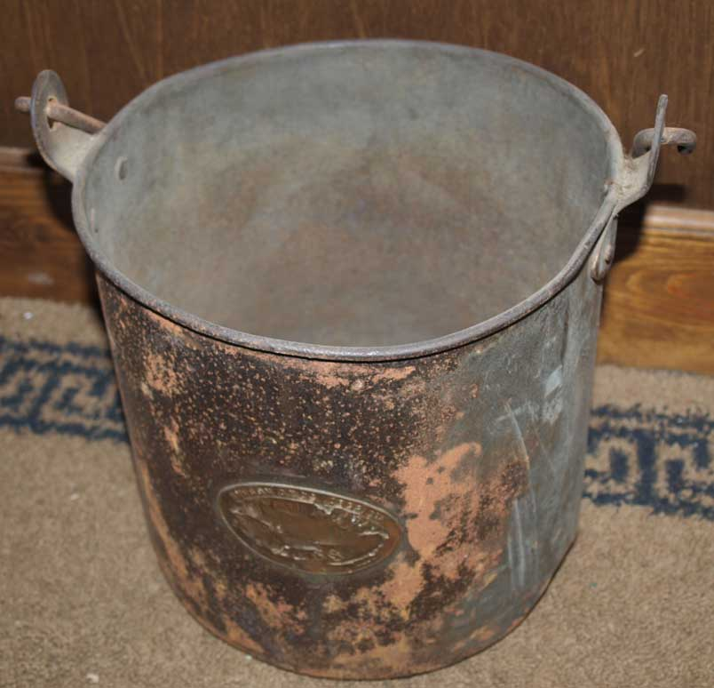 Royal Navy Mess Bucket