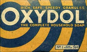 Oxydol washing powder