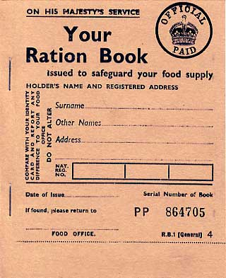 Ration Book-food