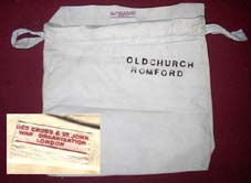 Red Cross War Committee bag