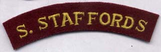 South Staffordshire Regt Shoulder Title