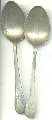 Spoon, WD marked, WW2 dated