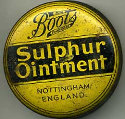 Boots Sulpher ointment
