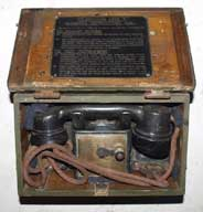 Scarce Field Telephone F MK1 dated 1939 in Mk1* box