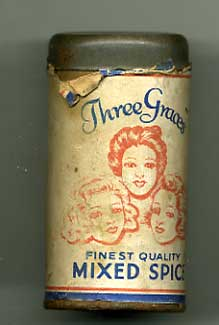 'Three Graces' mixed spice