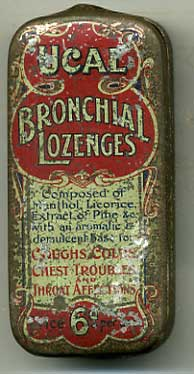 Ucal Bronchial Lozenges