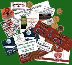 Packaging labels-reproduction