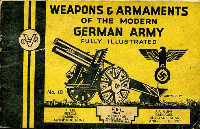 Weapons and Armamanets of the Modern German Army