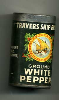Travers White Pepper