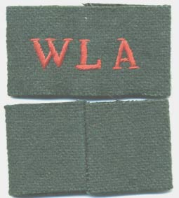 WLA Slip-on Shoulder Titles-Repro