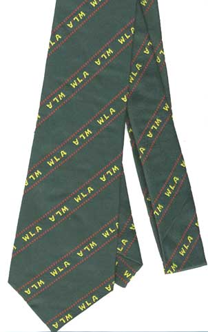 WLA Tie, Repro- NEW SUPPLIER, PRICE REDUCED from £24.50!